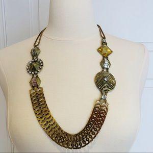 Erickson Beamon Rocks Necklace